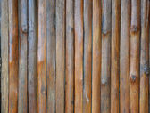 Brown bamboo wall for background — Stock Photo