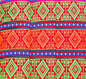 Texture pillow Thai style cotton. handmade — Stockfoto