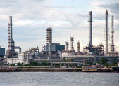 Oil refinery factory at Thailand — Stock Photo
