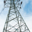 Power tower, station for making Electricity — Stock Photo