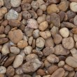 Pebble stone background. brown color — Stock Photo #34877319