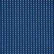 Blue linen fabric texture for background — Stock Photo