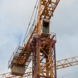 Stock Photo: Building crane construction