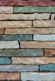 Ancient stone brick wall — Photo