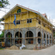 Stock Photo: Home building under Construction
