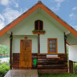 Wooden house in resort — Stock Photo
