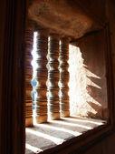 Timber windows — Stock Photo