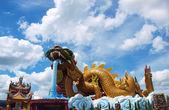 Dragon statue in Thailand — Stock Photo