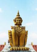 Deity statue — Stock Photo