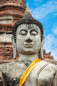 Beautiful Buddha in temple — Stock Photo