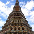 Pagoda of Wat Pho temple in Bangkok, Thailand. — Stock Photo