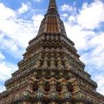 Pagoda of Wat Pho temple in Bangkok, Thailand. — Stock Photo #39737653