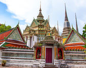 Pavilion of Wat Pho temple in Bangkok, Thailand. — Stock Photo