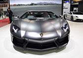 BANGKOK - MARCH 26 : The Lamborghini Supercars on display at T — Stock Photo
