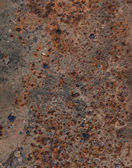 Rust texture as metal plate background — Стоковое фото