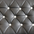 Black sofupholstery leather pattern background — Stock Photo #39831011