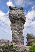 Stonehenge of Thailand at national Park isolate on white — Stock Photo