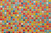 Mosaic tiles of Colorful  for background — Stock Photo