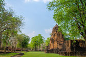 Stone castle in Muang Sing Historical Park, Thailand — Stock Photo