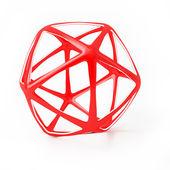 Disegno geometrico 3d astratto — Foto Stock