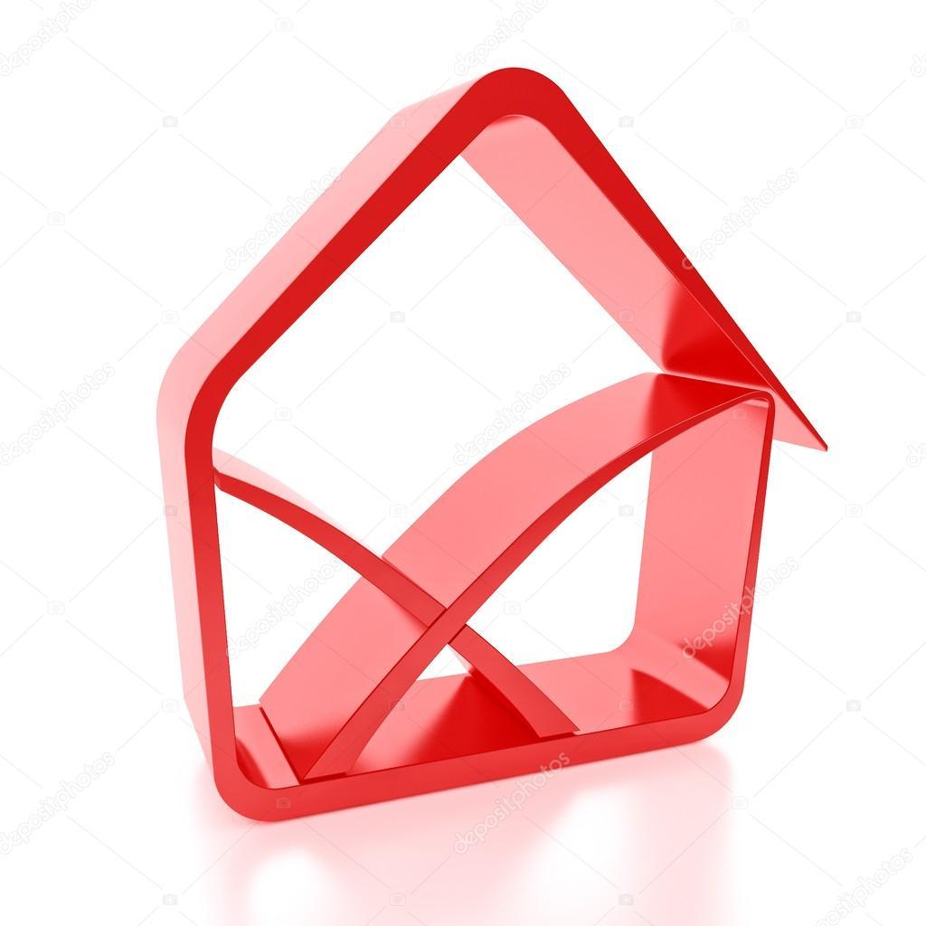 房子图标假标志