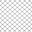 Royalty-Free Stock Photo: 3d Wire Fence Black Plastic