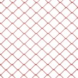 Royalty-Free Stock Photo: 3d Wire Fence Red Plastic