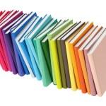 Colored Books Isolated on White background, Illustration — Stock Photo #47669933
