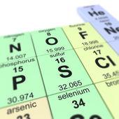 Sulfur — Stock Photo