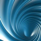Abstract blue twirl — Stock Photo