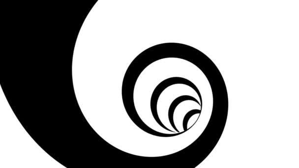 Lazo geométrico — Vídeo de stock