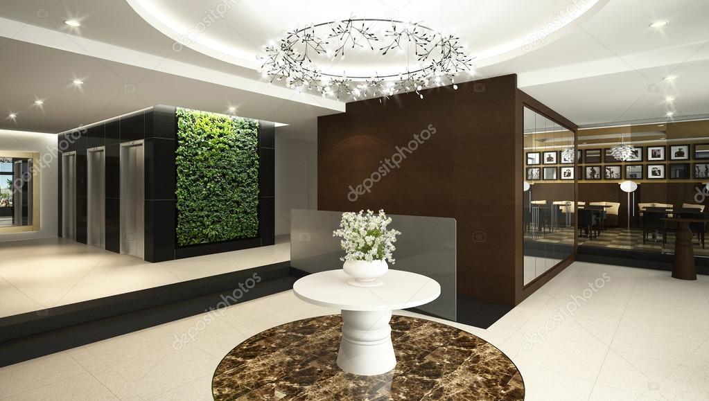 Lobby do hotel fotografias de stock imagewell 37932109 for Diseno de lobby de hoteles