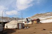 Gobi desert in Mongolia — Stock Photo