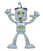 Cartoon robot — Stock Photo