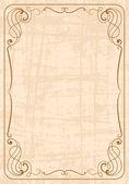 Vintage ornate frame — Stock Photo