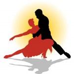 Постер, плакат: Tango dance