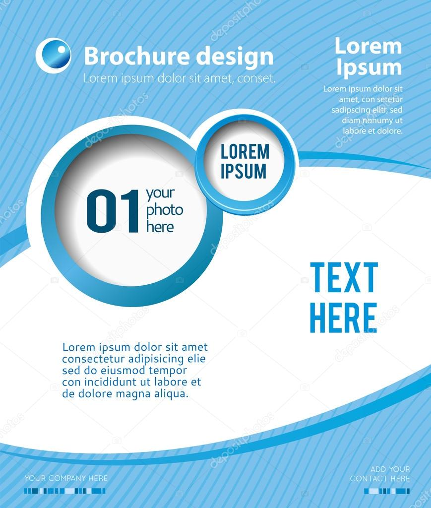 Design a poster template