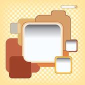 Renk arka plan konsept tasarımı — Stok Vektör