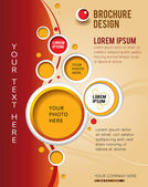 Design layout template — Stock Vector