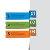 Modelo de infográficos — Vetorial Stock