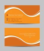 Creative business cards — Stok Vektör