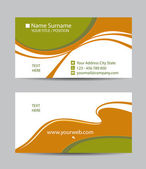 Creative business cards — Stock Vector