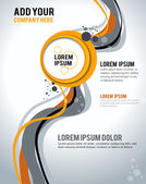 Abstract Business Background. Layer template — Stok Vektör