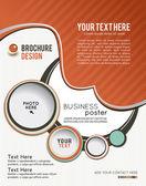Brochure design or flyer — Stock Vector