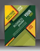 Brochure or flyer template. — Stock Vector