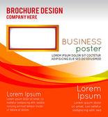 Background concept design for brochure — Stock Vector
