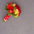 Large Red rose bouquet — Stock Photo