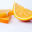 Orange pieces — Stock Photo #25635913