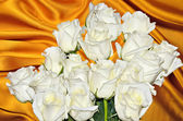White roses bouquet  — Stock Photo