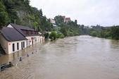 水浸河 — 图库照片